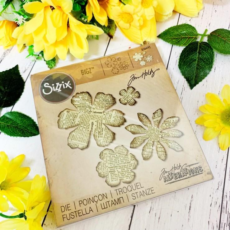 Sissix Bigz Die Tattered Florals