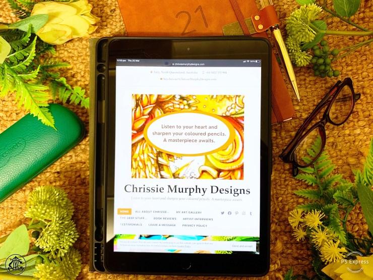 Visit the Chrissie Murphy Designs blog for regular encouragement