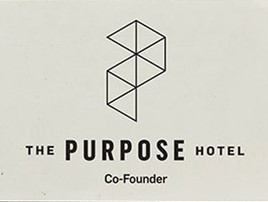 The Purpose Hotel Co-Founder