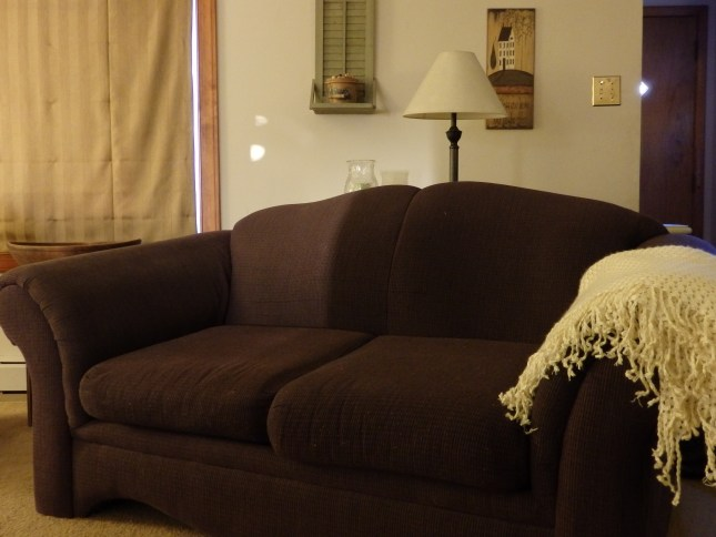 Loveseat w/ Cushions