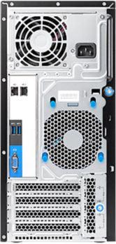 HP ProLiant ML10 v2 / Back