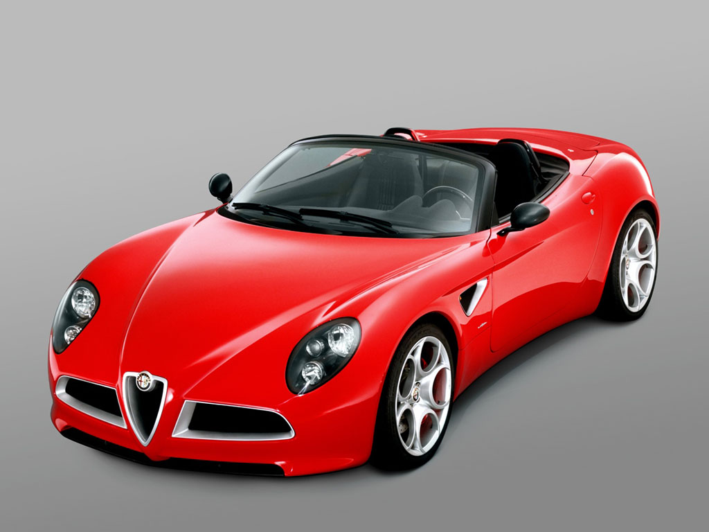 New Cars Update Alfa Romeo Sports Cars Pics