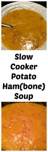 Slow Cooker Potato Ham Soup