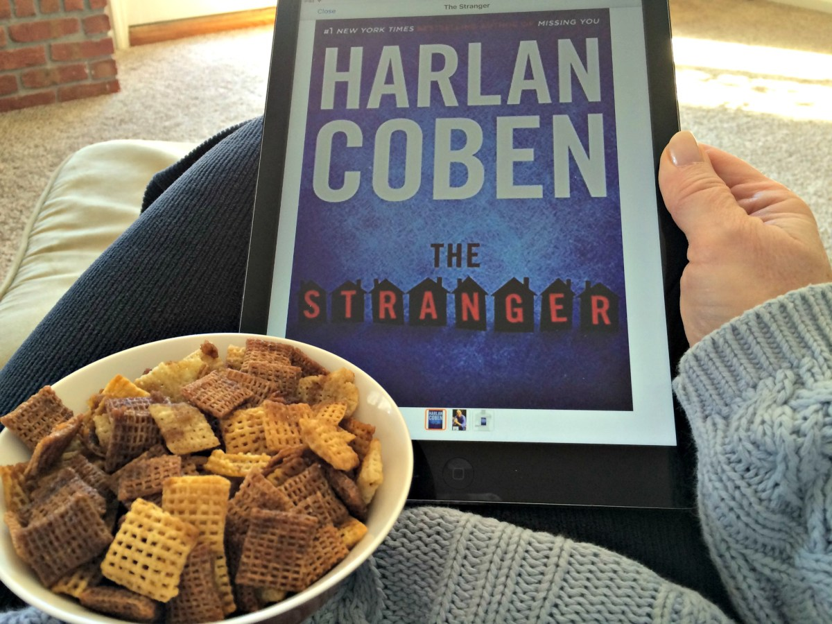 Book Review: The Stranger by Harlan Coben and Chex Mix