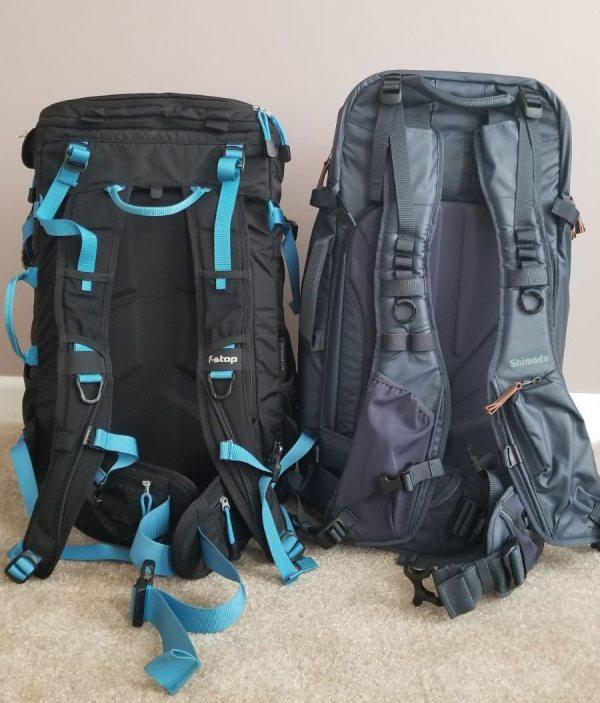Female Camera Backpack: Shimoda 40L and F-Stop Kashmir