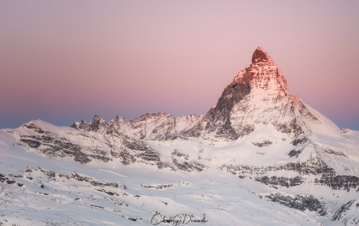 Winter Photography Gear List for Landscape Photography Winter Photography Gear List for Landscape Photography with cover image of Matterhorn in Switzerland Blog Post with cover image of Matterhorn in Switzerland