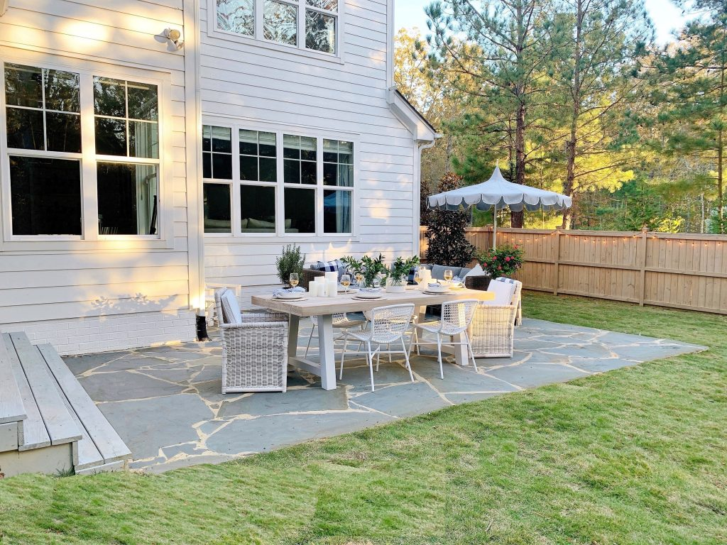 our bluestone patio and how it can work