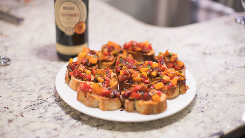 edmonton catering bruschetta recipe