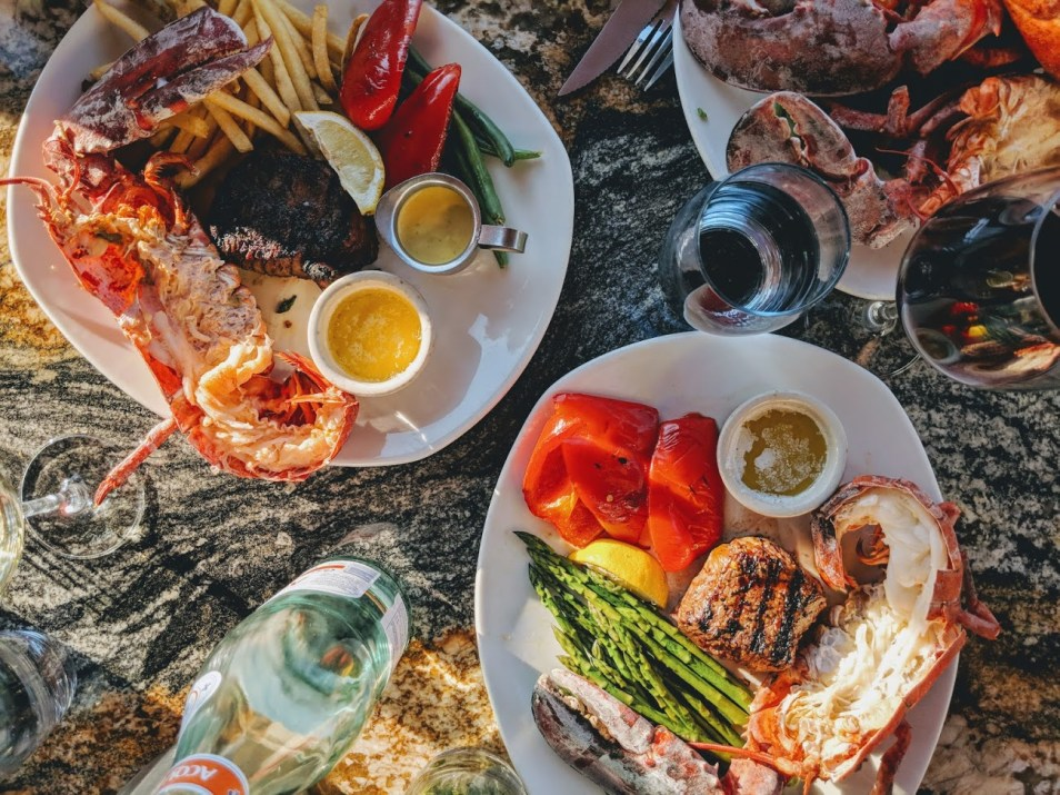 keg steakhouse bar lobster summer blog yeg review