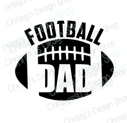Football Dad SVG - Chrissy's Design Shop