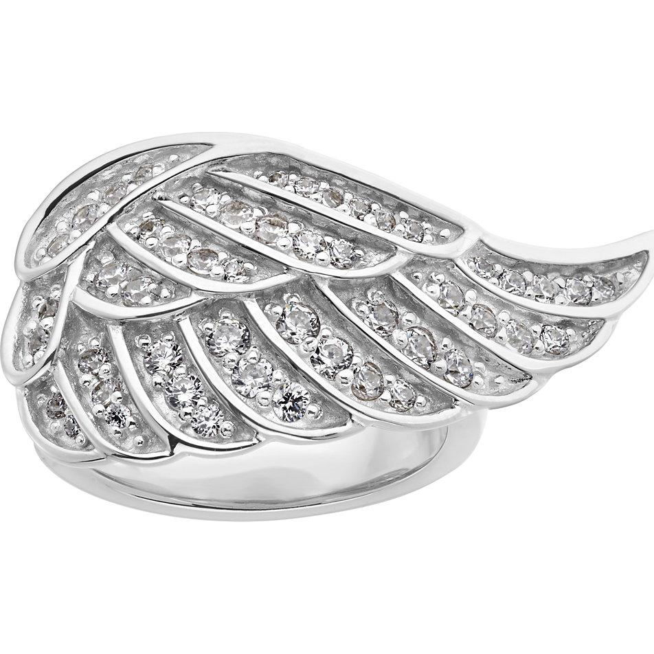 JETTE Silver Damenring Angelwing bei CHRISTde bestellen