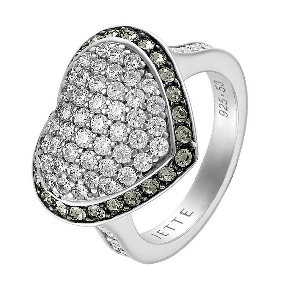 JETTE Black Heart Ring 60056781 online kaufen bei CHRIST