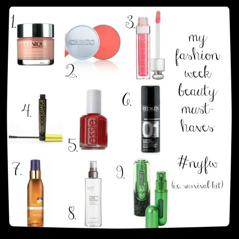 FW Must haves