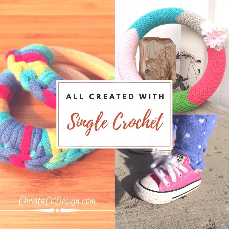 Single Crochet Video & Photo Tutorial