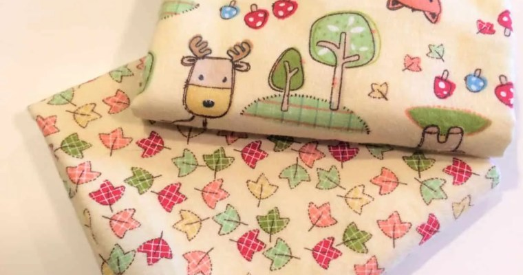 Cloth Baby Wipes Sewing Tutorial