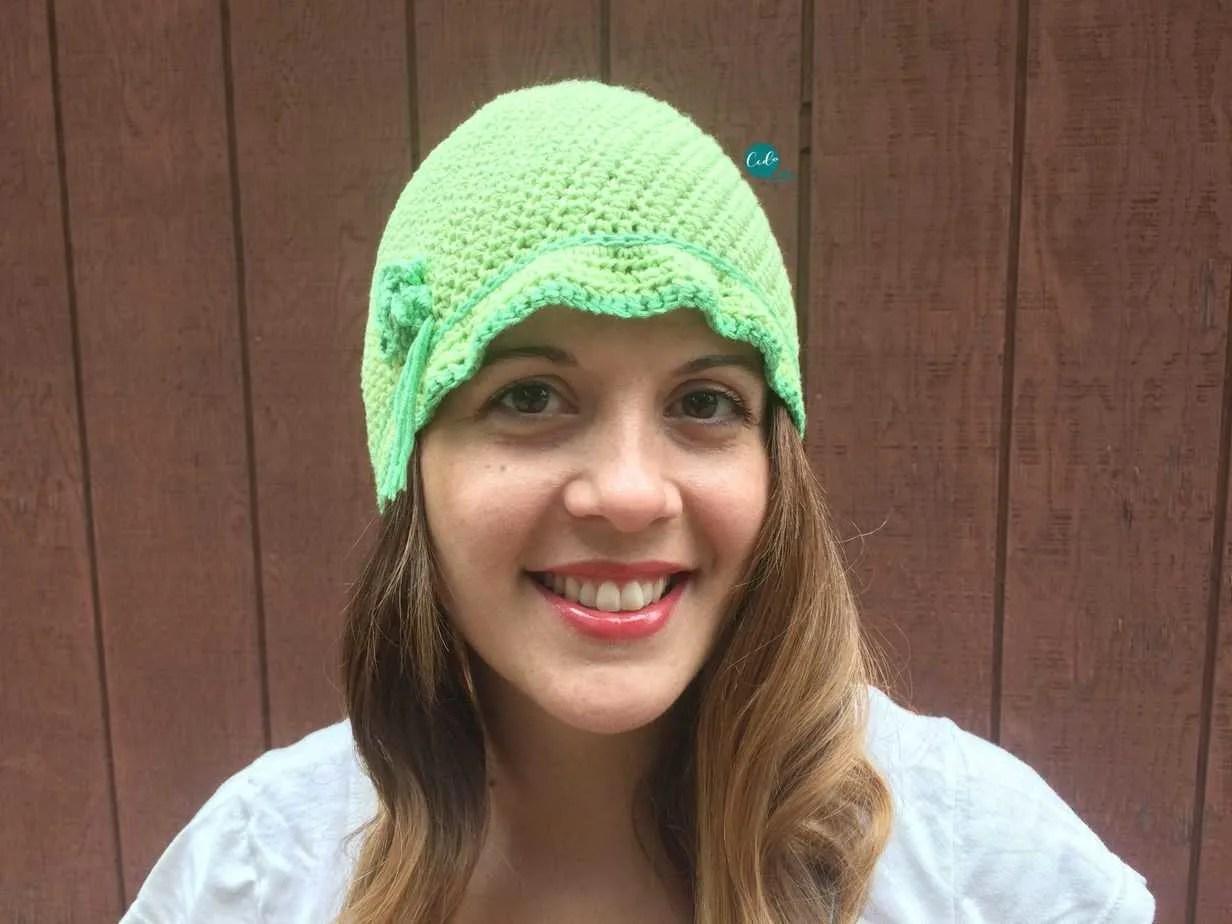 Women's Cloche Hat Free Crochet Pattern