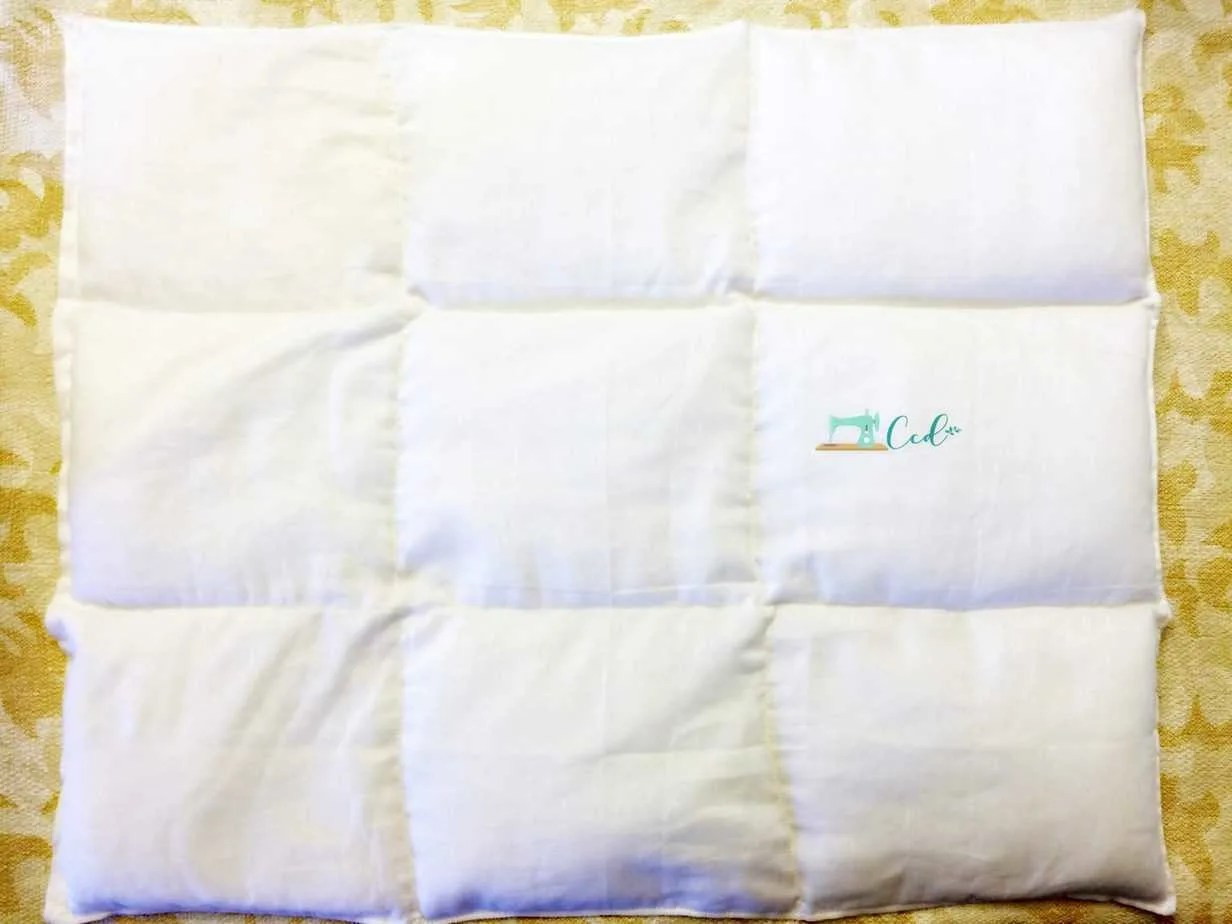 DIY Weighted Lap Pad Sewing Tutorial