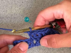 front post double crochet