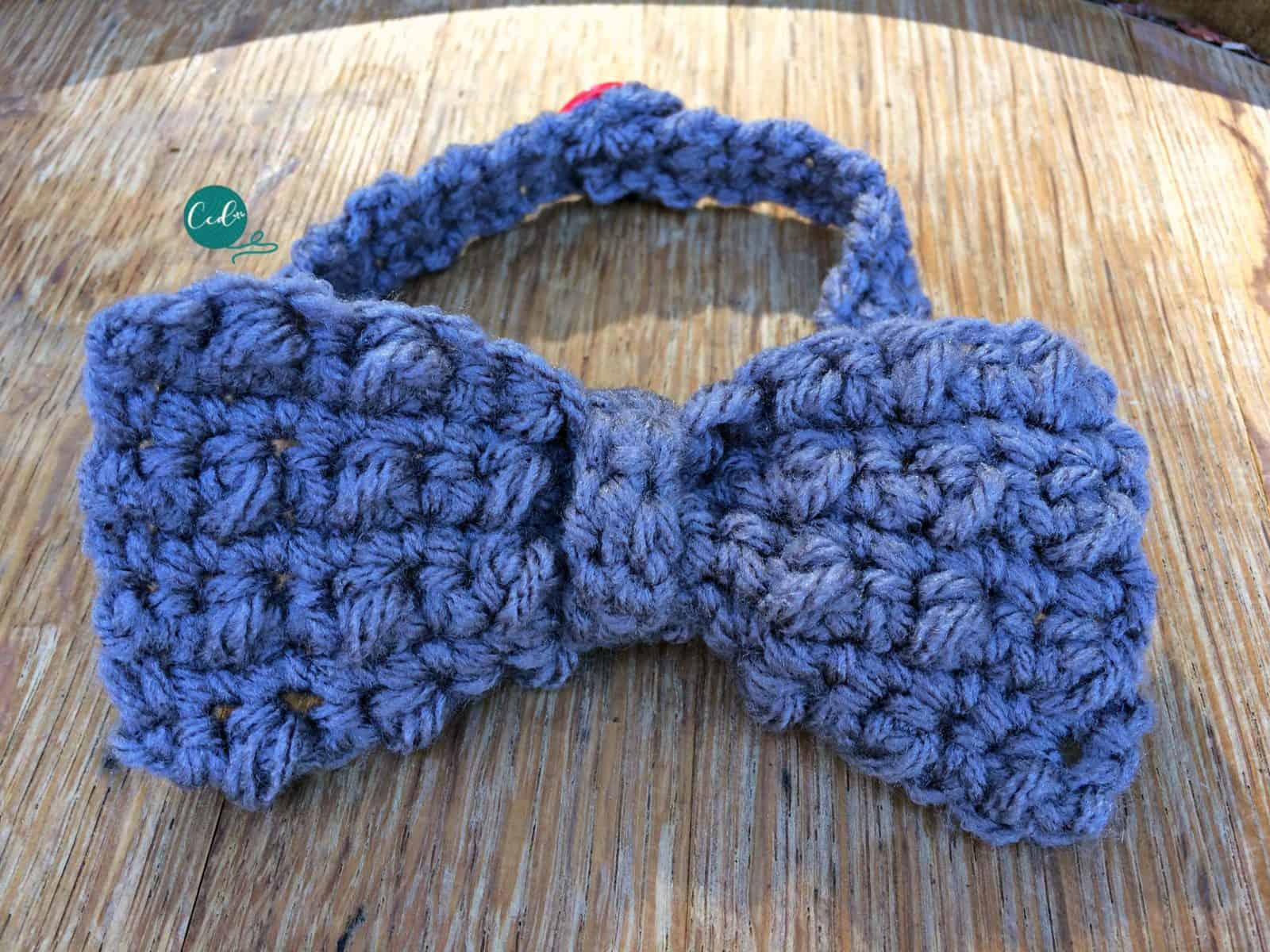Crochet Bow Tie Tutorial Free Pattern Christacodesign
