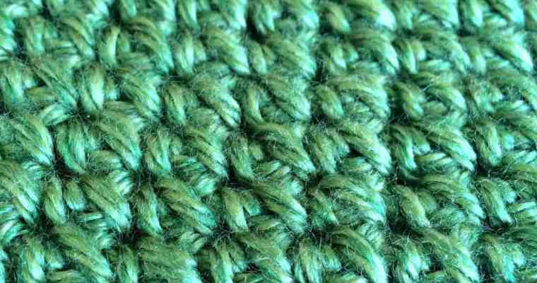 Mini Puff Stitch Crochet Tutorial