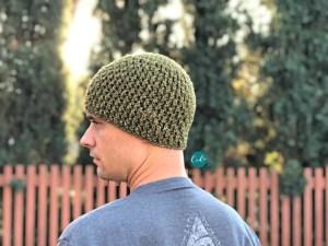 textured beanie free crochet