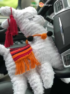 fuzzy llama driving