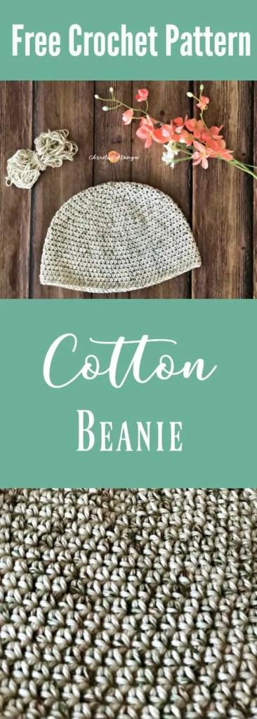 cotton chemo cap