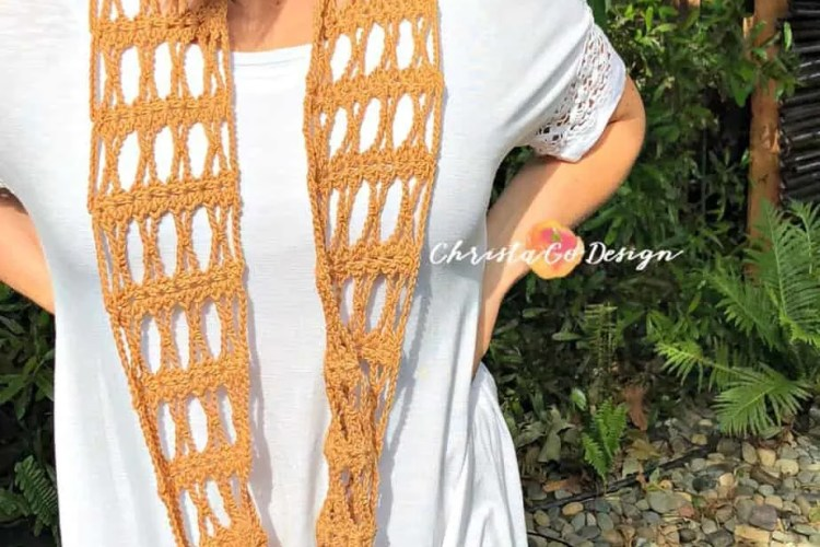 Incrocio Crochet Cowl Tutorial Pattern Christacodesign