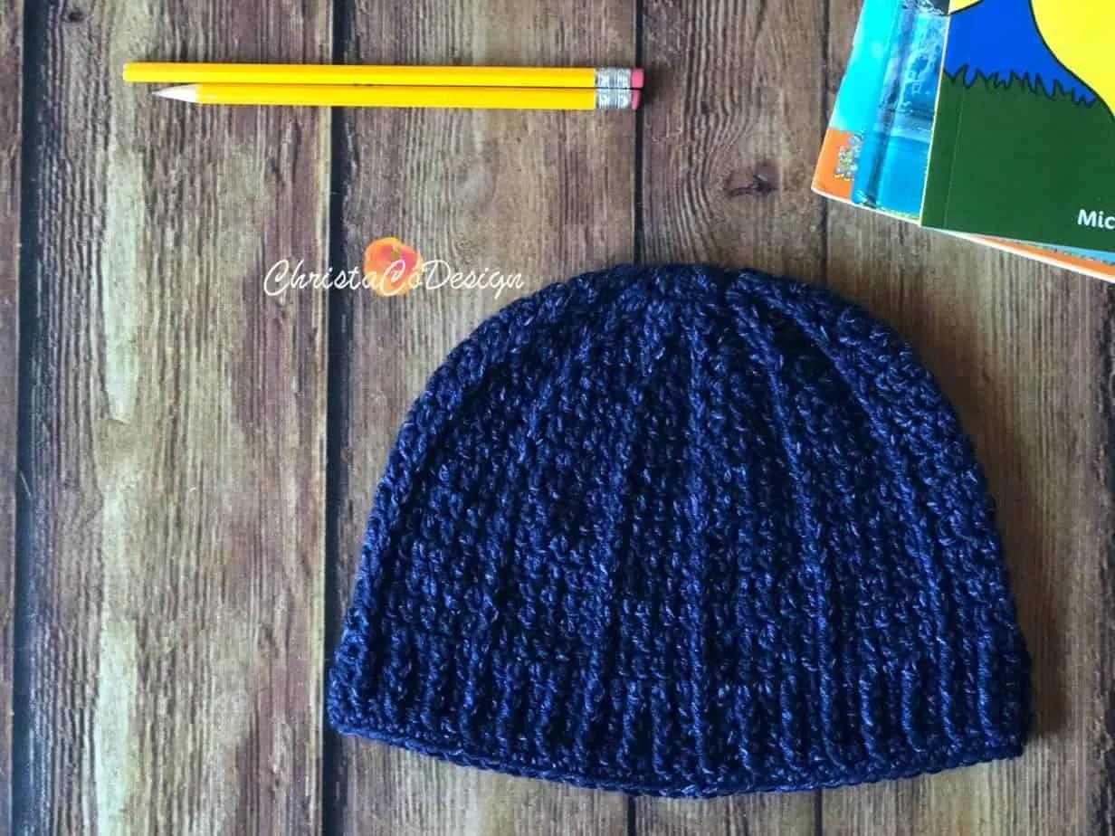 Bravo Beanie Free Crochet Hat Pattern