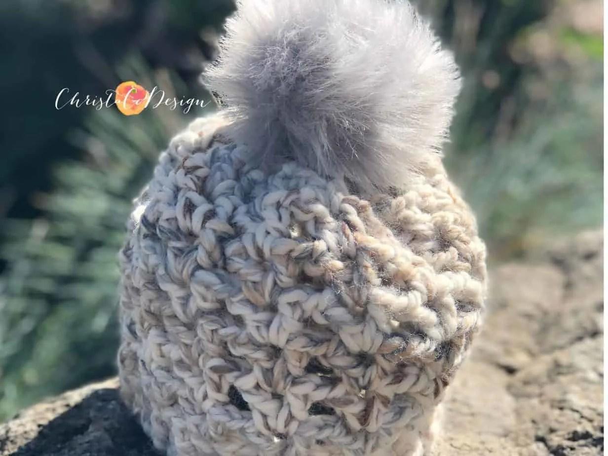 Veneto V-Stitch Crochet Hat Pattern