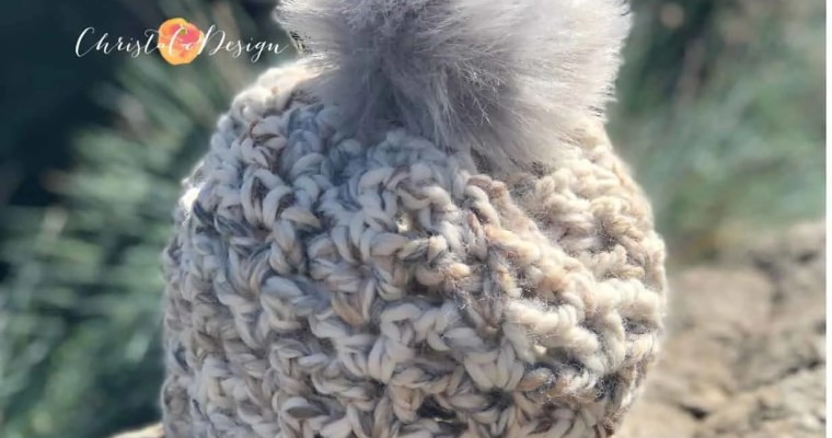 Veneto V-Stitch Crochet Hat Pattern