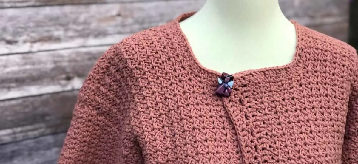 Positano Pocket Cardigan Free Crochet Pattern