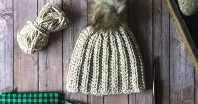 Backcountry Beanie a Free Crochet Pattern