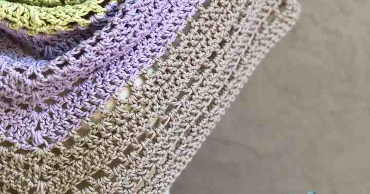 Lilla Shawl a Free Crochet Pattern
