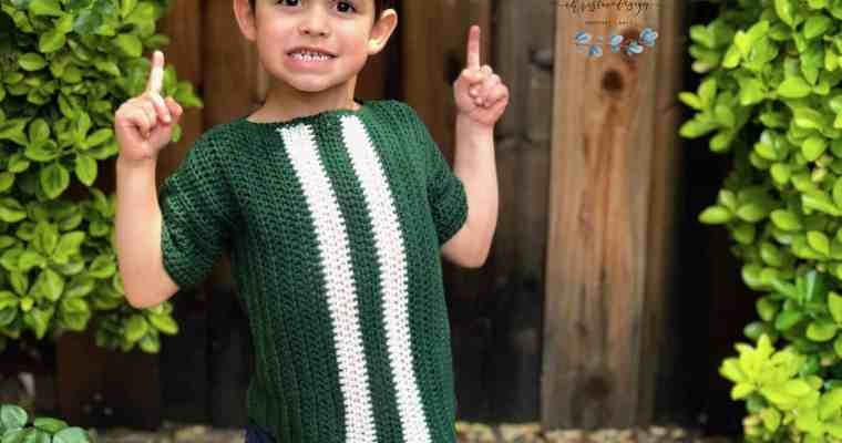 Kids' Racing Tee a Free Crochet Shirt Pattern