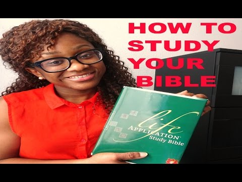 HOW TO STUDY AND UNDERSTAND THE BIBLE | Tips And Tricks