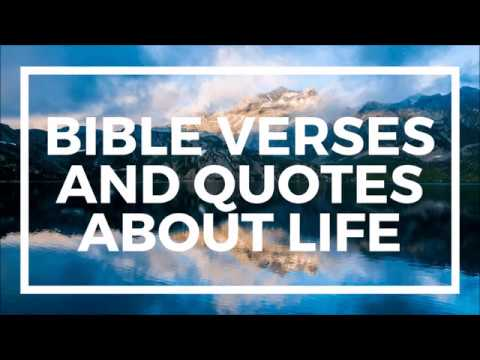 Bible Verses and Quotes about Life
