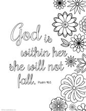 Bible verse coloring pages that give you strengthto face giants of your life...