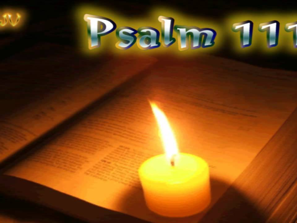 (19) Psalm 111 - Holy Bible (KJV)