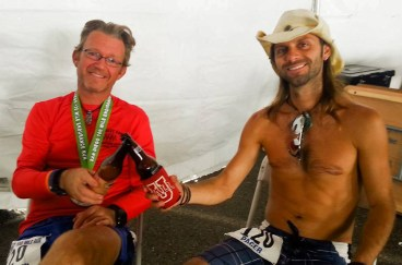 SD100 Tim and Chris Post Race