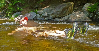 Maine 100 Mile Wilderness River