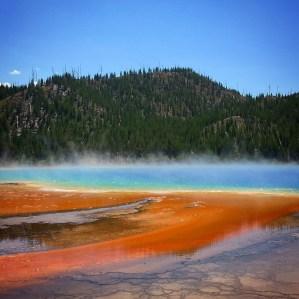 Chris Tarzan Clemens - Yellowstone Grand Prismatic