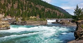 Chris Tarzan Clemens - Kootenai Falls