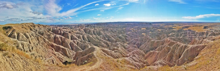Chris Tarzan Clemens - Badlands Panorama