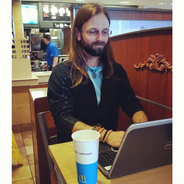 Chris Tarzan Clemens - Working At McDonalds