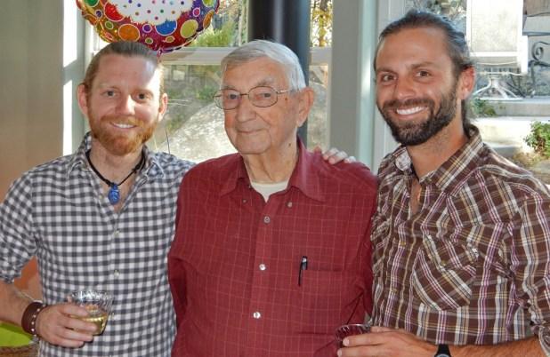 Chris Tarzan Clemens - Grandpa Clemens 90th Birthday