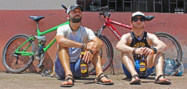 Chris Tarzan Clemens - Santa Cruz Bike Ride