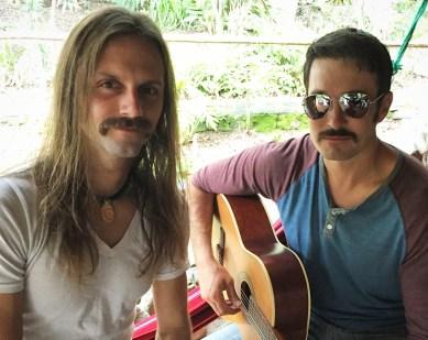 Chris Tarzan Clemens - Mustache Monday at Izhcayluma