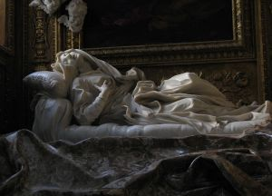Picture of sculpture, Blessed Ludovica Albertoni