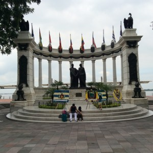 Marble monument of Guayaquil